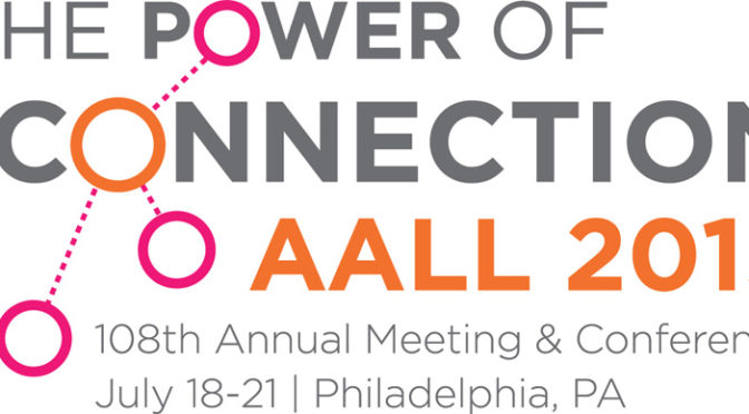 CALL Speakers at the AALL Annual Meeting