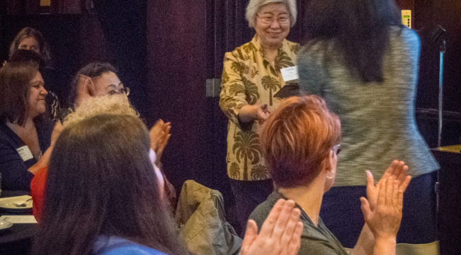 Lorna Tang Receives Lifetime Achievement Award