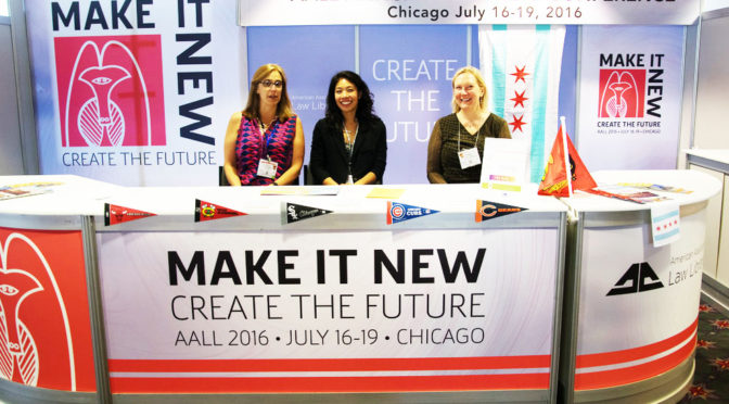 Volunteer Opportunities at AALL Chicago 2016
