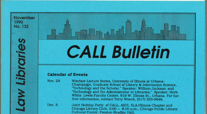 CALL Bulletin HeinOnline Update