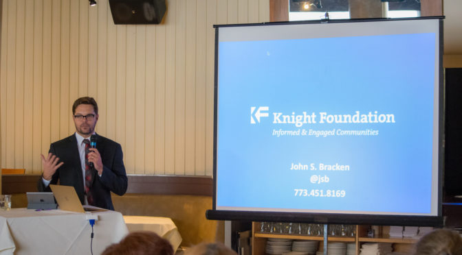 John S. Bracken of the Knight Foundation