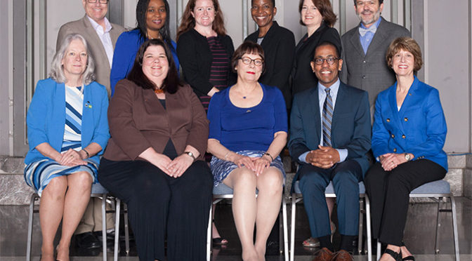 Photo of the 2015-2016 AALL Executive Board
