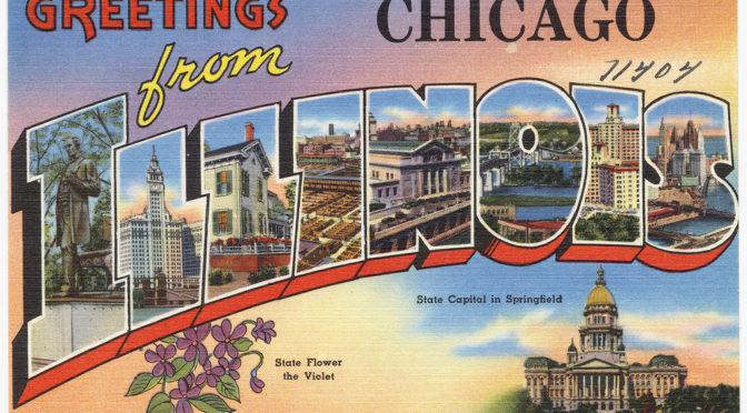 Chicago Post Card